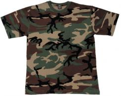 Kinder T-Shirts, woodland, halbarm