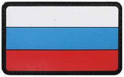 Klettabzeichen, Russland, 3D, Größe: 8 x 5 cm