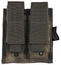 Magazintasche doppelt, klein, MOLLE, HDT-camo FG