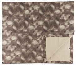 Mehrzweckplane, HDT-camo, Metallösen, ca. 300 x 137 cm