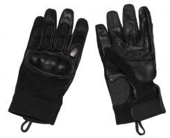 Neopren Handschuhe, schwarz, Knöchel- und Fingerschutz