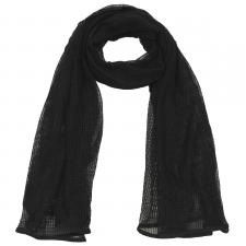 Netzschal, schwarz, 190 x 90 cm