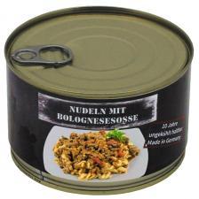 Nudeln mit Bolognesesoße, Vollkonserve, 400 g, 7% Mwst.