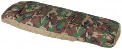 Schlafsacküberzug, Modular, 3-Lagen Laminat, woodland