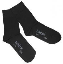 """Socken, """"Bambus"""", schwarz, 3-er Pack"""