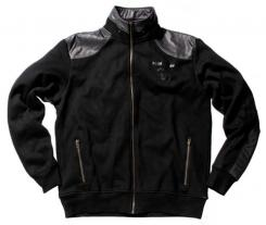 Sweatshirtjacke, schwarz, Pure Trash