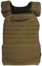 "Tactical Weste, ""Laser Molle"", coyote tan"