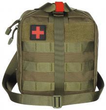 Tasche, Erste-Hilfe, groß, MOLLE, oliv