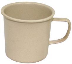 """Tasse, """"Bambus"""", braun, 400 ml, Becher Durchmesser 8,5 cm"""