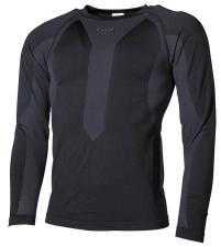 Thermo-Sport-Funktions- Unterhemd, langarm, schwarz