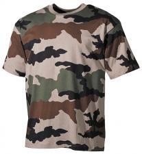 US T-Shirt, halbarm, CCE tarn, 160g/m²
