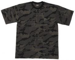 US T-Shirt, halbarm, combat camo, 170g/m²