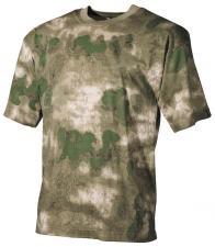 US T-Shirt, halbarm, HDT-camo FG, 170g/m²