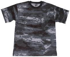 US T-Shirt, halbarm, HDT-camo LE, 170g/m²