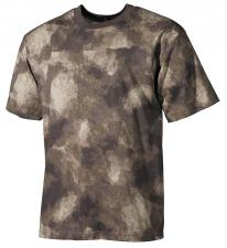 US T-Shirt, halbarm, HDT-camo, 170g/m²