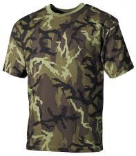 US T-Shirt, halbarm, M 95 CZ tarn, 160g/m²