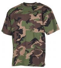 US T-Shirt, halbarm, M 97 SK tarn, 170g/m²