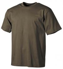 US T-Shirt, halbarm, oliv, 160g/m²
