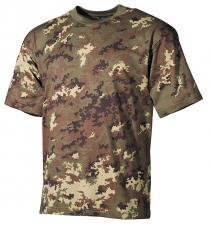 US T-Shirt, halbarm, vegetato, 160g/m²