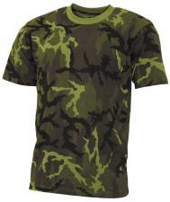 "US T-Shirt, ""Streetstyle"", M 95 CZ tarn, 140-145 g/m²"
