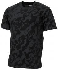 "US T-Shirt, ""Streetstyle"", night-camo, 140-145 g/m²"