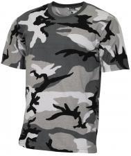 "US T-Shirt, ""Streetstyle"", urban, 140-145 g/m²"