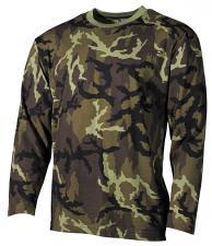 US Tarn-Shirt, langarm, CZ tarn Typ 95, 160g/m²