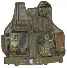 "Weste, ""USMC"", flecktarn, Koppel, Holster, div. Taschen"
