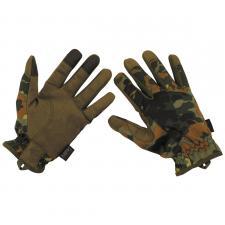 Fingerhandschuhe, flecktarn, Lightweight