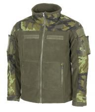 """Fleece-Jacke, """"Combat"""", M 95 CZ tarn"""