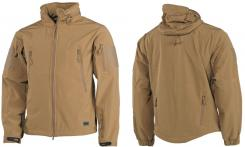 "Soft Shell Jacke, ""Scorpion"", coyote tan"