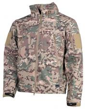"Soft Shell Jacke, ""Scorpion"", operation - camo"