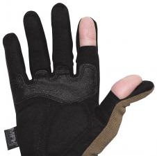 "Tactical Handschuhe, ""Attack"", coyote tan Finger umklappbar"