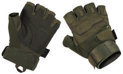 """Tactical Handschuhe,""""Protect"""", ohne Finger, oliv"""