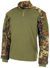 US Tactical Hemd, langarm, flecktarn