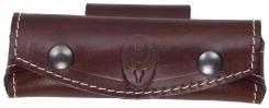 Lederetui für Taschenmesser braun