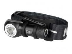 NEBO Kopflampe REBEL, 600 Lumen, 4 Leuchtmodi, Kopfband,, Stahlclip, Magnetfuß, Lithium Ionen Akku 700 mAh, 3,7V