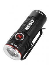 NEBO LED Taschenlampe TORCHY, 1000 Lumen, 130 m Leuchtweite,, Alugehäuse, Lithium-Ionen Akku, MagDock USB Ladestation