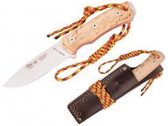 Nieto Outdoormesser CHAMAN BUSHCRAFT Full Tang Leder-Scheide