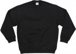 """Sweatshirt, schwarz, """"PC"""", 340g/m²"""