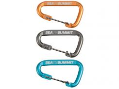 Sea to Summit, Set, 3-tlg Klein-Karabiner mit Draht-Schnapper, 6061-Aluminium