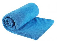 Sea to Summit TEK TOWEL L, Frottee-Mikrofaserhandtuch, pacific-blau, Netzbeutel
