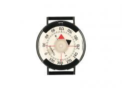 SUUNTO M-9 Armband-Peilkompass, 360-Grad-Einteilung, drehbare Kapsel, Velcro/Klett-Band, Kunststoffschließe