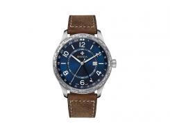 SWIZA Armbanduhr MAGNUS GTM, Ronda 514.24h, 316 L Kalbsleder