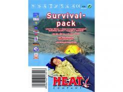 Heat Notfall-Paket + Rettungsdecke und Wärmekissen,