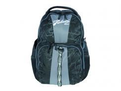 """Rucksack passend für 40cm (16"""") Laptop, sw/grau, Nylon/Polyester, Organisationsfächer"""