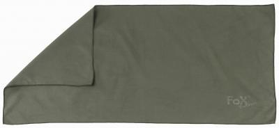 "Microfasertuch, ""Quickdry"" oliv, ca. 90 x 42 cm"