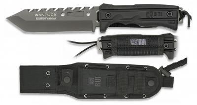 K25 Tactico Einsatzmesser Titan beschichtet kräftiges Messer