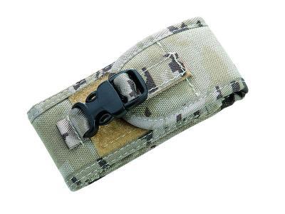 Cordura Etui,Desert-Camo,für Heftlänge 10-12cm Klett- und Schnappverschluss
