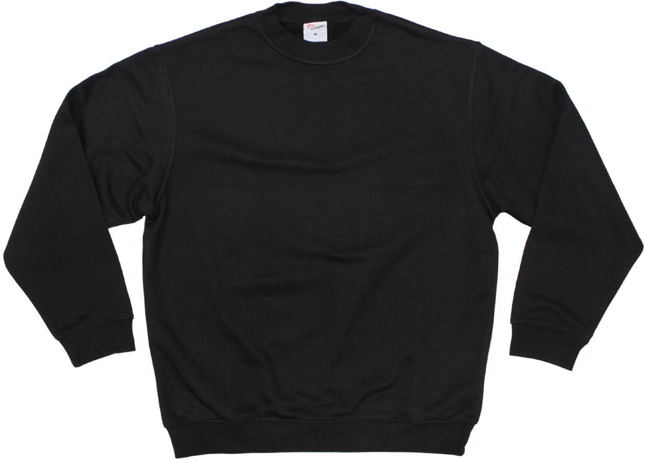 6f399693f534 Sweatshirt, schwarz,